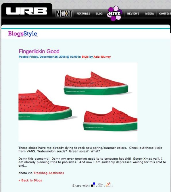 watermelonshoes